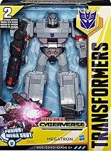 """Megatron - Fusion Mega Shot - Трансформираща се фигурка """"Transformers  Cyberverse"""" - играчка"""