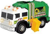 """Боклукчийски камион - Детска играчка със светлинни и звукови ефекти от серията """"Action"""" -"""