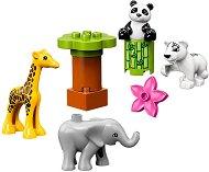 """Бебета животни - Детски конструктор от серията """"LEGO Duplo"""" -"""