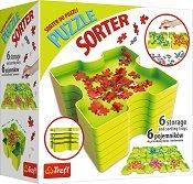 Кутии за сортиране на пъзелни части - Комплект от 6 броя - продукт