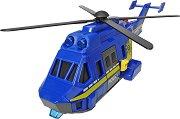 """Полицейски хеликоптер - Детска играчка със светлинни и звукови ефекти от серията """"SOS"""" -"""