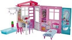 """Къщата на Барби - Комплект за игра с аксесоари от серията """"Barbie"""" - кукла"""