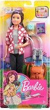 """Барби - Скипър на път - Кукла и аксесоари от серията """"Barbie - Искам да бъда"""" -"""