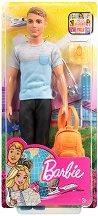 """Кен на път - Кукла и аксесоари от серията """"Barbie - Искам да бъда"""" - играчка"""
