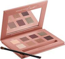 Bourjois Place De L'Opera Rose Nude Edition - Палитра с грим за очи - четка