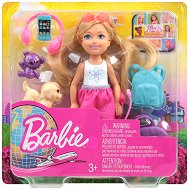 """Челси на път - Кукла и аксесоари от серията """"Barbie - Искам да бъда"""" -"""