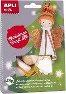 Направи играчки за елхата - Ангелче - Творчески комплект - играчка