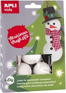 Направи играчки за елхата - Снежен човек - Творчески комплект - играчка