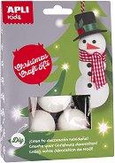 Направи играчки за елхата - Снежен човек - играчка