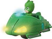 """Геко с кола - Мисия състезател - Детска метална играчка със светлинни и звукови ефекти от серията """"PJ Masks"""" - играчка"""