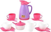 Сервиз за чай - Детски комплект за игра -