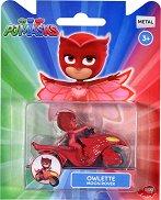 """Совина с луноход - Детска метална играчка от серията """"PJ Masks"""" - играчка"""