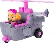 """Скай с трансформиращ се хеликоптер - Детска играчка от серията """"Пес патрул"""" -"""