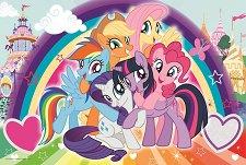 """Малкото пони - Пъзел с едри елементи от серията """"My Little Pony"""" - пъзел"""