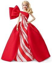 """Барби в празнична рокля - Кукла от серията """"Barbie - Колекционерски кукли"""" - играчка"""