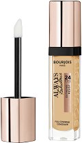 Bourjois Always Fabulous 24Hrs Full Coverage Concealer - Течен коректор за лице с високо покритие - гел