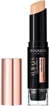 Bourjois Always Fabulous 24 Hour 2-in-1 Foundation and Concealer Stick - Стик фон дьо тен и коректор за лице 2 в 1 с гъбичка -
