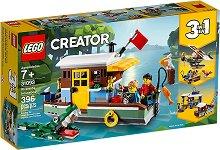 """Къща-лодка край реката - 3 в 1 - Детски конструктор от серията """"LEGO Creator"""" -"""