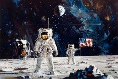 """Първият човек стъпил на Луната - Роберт МакКол """"Robert McCall"""" -"""