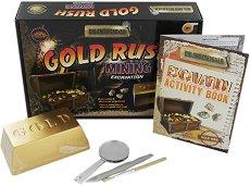 """Златна треска - Детски образователен комплект от серията """"Dig and Discover"""" -"""