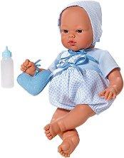 Кукла бебе Коке - Комплект с чантичка и шишенце -