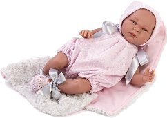 Кукла бебе Габриела : Лимитирана серия - Комплект с одеяло и пелена -