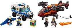 """Полиция в небето - Кражба на диаманти - Детски конструктор от серията """"LEGO: City"""" -"""