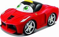 """Количка - Ferrari - Детска играчка със звукови ефекти от серията """"Junior"""" -"""