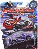 Количка - Crash'ems - Играчка с pull back механизъм - играчка