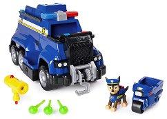 """Полицейският камион на Чейс - Детска играчка със звукови и светлинни ефекти от серията """"Пес патрул"""" - играчка"""