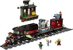 """Призрачен влак - Детски конструктор от серията """"LEGO: Hidden Side"""" - играчка"""