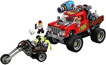 """Камионът за каскади на Ел Фуего - Детски конструктор от серията """"LEGO: Hidden Side"""" - играчка"""