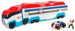 """Камион Пес Патрулер - Комплект със светлинни и звукови ефекти от серията """"Пес патрул"""" - фигура"""