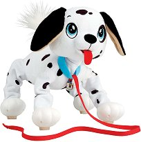 Далматинец - Плюшена играчка за разходка -