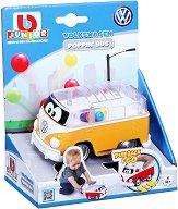 """Количка с топчета - Volkswagen Type 2 - Детска играчка с pull-back механизъм от серията """"Junior"""" - играчка"""