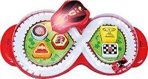"""Писта за игра с количка и сортер - Ferrari - Детска играчка със светлинни и звукови ефекти от серията """"Junior"""" - играчка"""