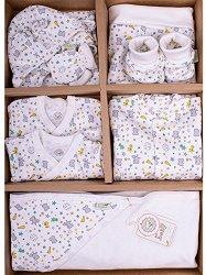 Комплект за изписване от 9 части - 100% органичен памук -