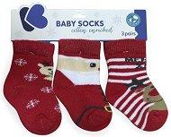 Детски термо-чорапи - Merry XMas - Комплект от 3 чифта - продукт