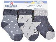 Бебешки термо-чорапи - Комплект от 3 чифта -