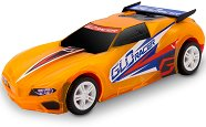 Количка с променящ се цвят - GLO Racer - Играчка с pull back механизъм, светлинни и звукови ефекти - играчка