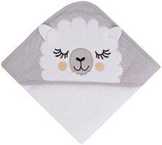 Хавлия за баня - Sleepy Lama - С размери 80 x 80 cm -