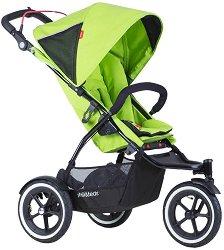 Комбинирана бебешка количка - Sport V5: Apple - С 3 колела -