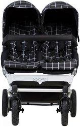 Комбинирана количка за близнаци - Duet V3 - С 4 колела -