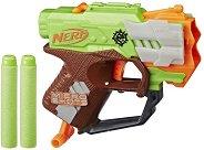 """Бластер - Microshots: Crossfire - Комплект с 2 стрели от серията """"Nerf Zombie Strike"""" -"""