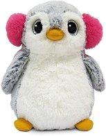 Пингвинче с ушанки - играчка