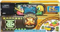Treasure X: Aliens Vs Kings - Комплект фигури и аксесоари изненада - играчка