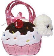 """Кученце в чантичка - Кексче - Плюшена играчка от серията """"Fancy Pals"""" -"""