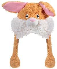 Шапка с мърдащи уши - Зайче -