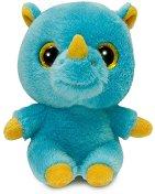 """Носорогът Рино - Плюшена играчка от серия """"YooHoo & Friends"""" - количка"""