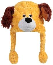 Шапка с мърдащи уши - Куче - играчка